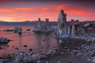 Sunset At The Tufa