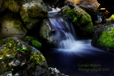 Water Among The Boulders