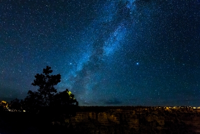 Milky Way At The Canyon