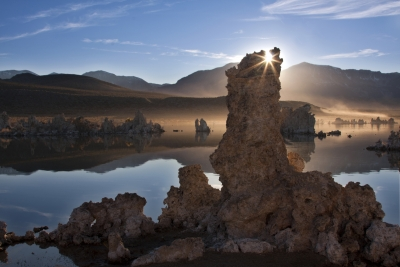 Mono Lake Sunburst