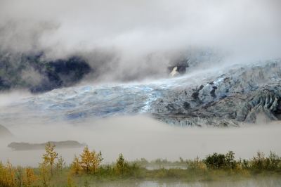 Mendenhall Glacier After Rain