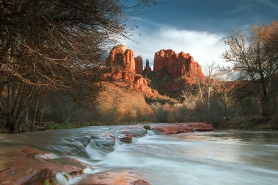 Cathedral Rock And River