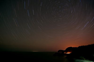 Star Trails-heceta
