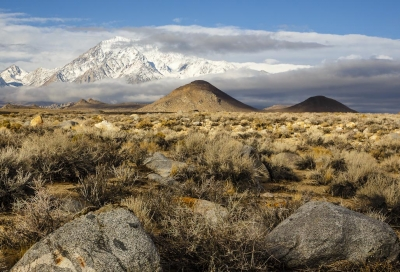 Layers Of The Owens Valley