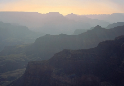 Sunrise At The Grand Canyon