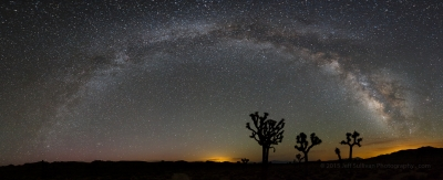 Joshua Tree Milky Way Panorama