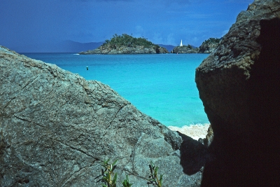 Storm Approaching Trunk Bay