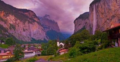 Purple Lauterbrunnen