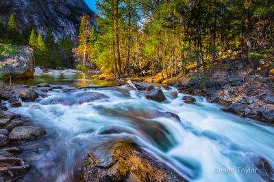 Springtime At Tenaya Creek- Yosemite