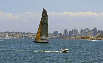 Sailing In San Diego With Oracle