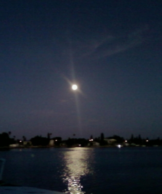 The Moon Over The Water