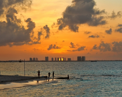 Cancun Sunset