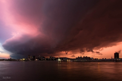 Storm Over Montreal