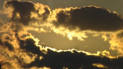 Clouds At Sunset In Barnegat Bay