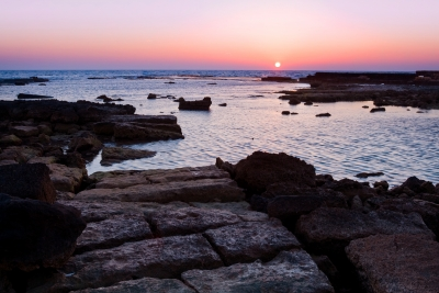 The Lost Ruins Of Caesarea, Israel