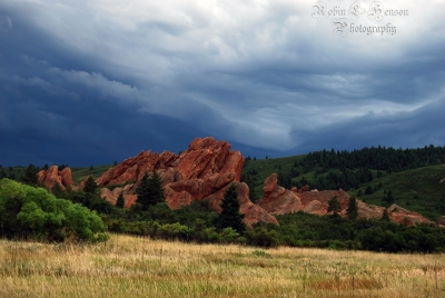 A Storm Is Brewing In The Roxborogh State Park