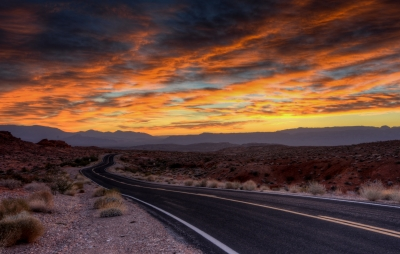 Sunrise, Valley Of Fire State Park