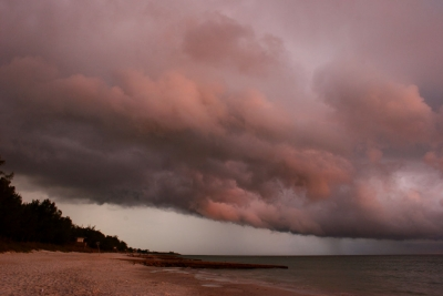 Florida Storm Over The Gulf Of Mexico