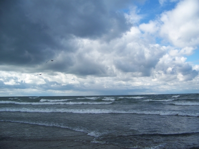 Approaching Storm On Lake Erie