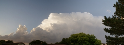 Storm Moving North Of Hays