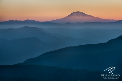 Mount Adams From Larch Mountain