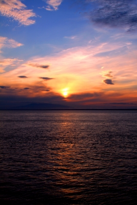 Midnight Sunset On The Cook Inlet