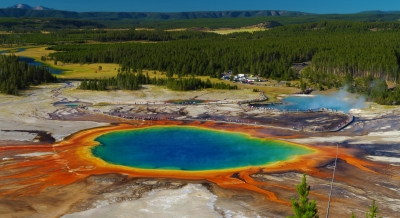 Heart Warming Grand Prismatic Spring