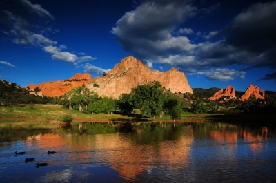 Ute Valley Reflection