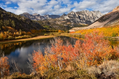 Fall Color Above North Lake