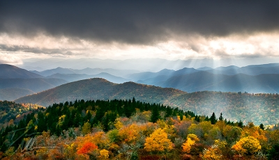 Autumn Radiance – Blue Ridge Parkway Landscape