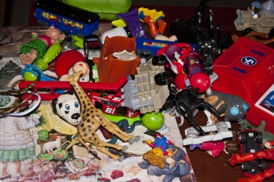 Toys Anyone? Washed And Just Like New!