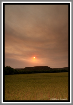 Wildfire Sunset