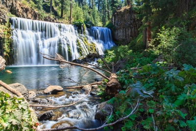 Middle Mccloud Fall