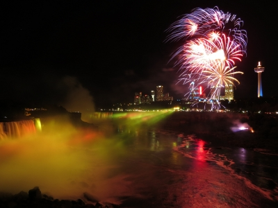 Fireworks Over Niagara…august 4, 2013