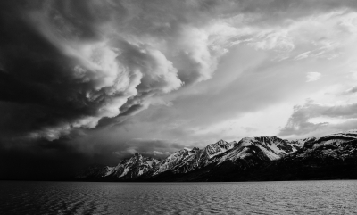 Storm Over The Grand Tetons