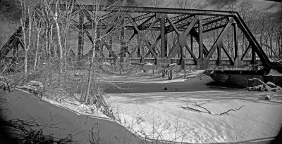 Old Conklin Railroad Bridge