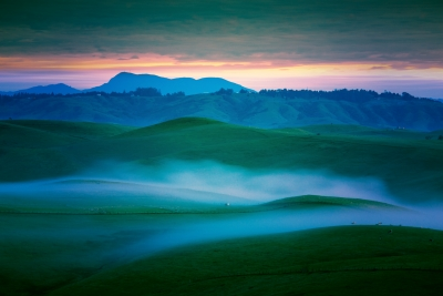 Dawn In The Petaluma Hills