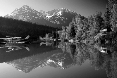 Alaska, Chugach National Forest, Reflection