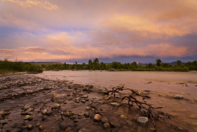 Gros Ventre River Sunset