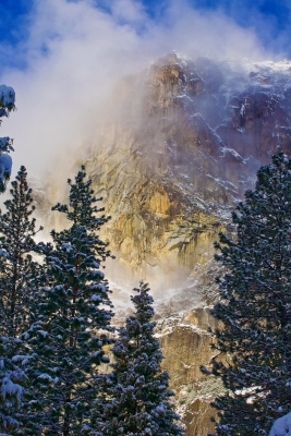 California, Yosemite National Park, Winter, Snow