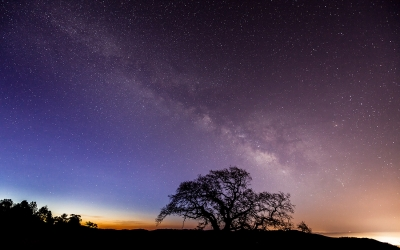 Milky Way From Henry Coe State Park