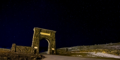 The Arch Of Yellowstone