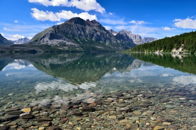 Reflections On Saint Mary Lake