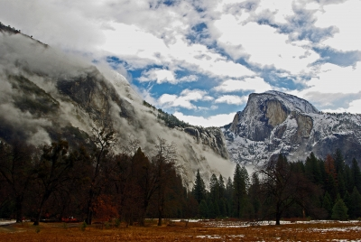 Stormy Half Dome