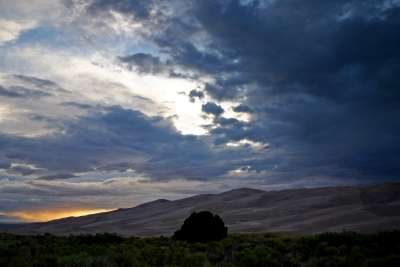 Great Sand Dunes Cloudscape 1