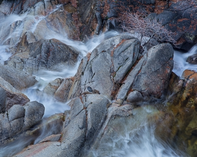 Winter, Cascade Creek (yosemite)