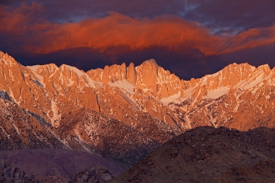 Storm Clouds Over Mt. Whitney