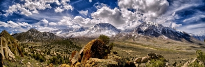 The Eastern Sierra Nevada