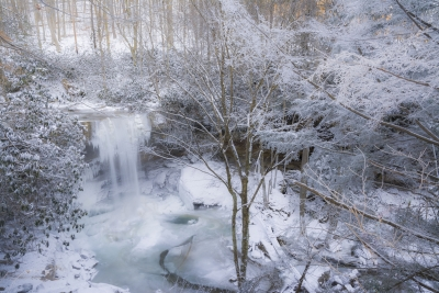 Polar Vortex At Cucumber Falls