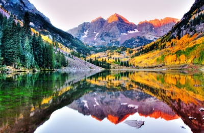 Fall Color-maroon Bells